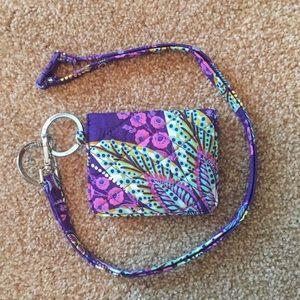 Vera Bradley Accessories - Vera Bradley wallet with lanyard